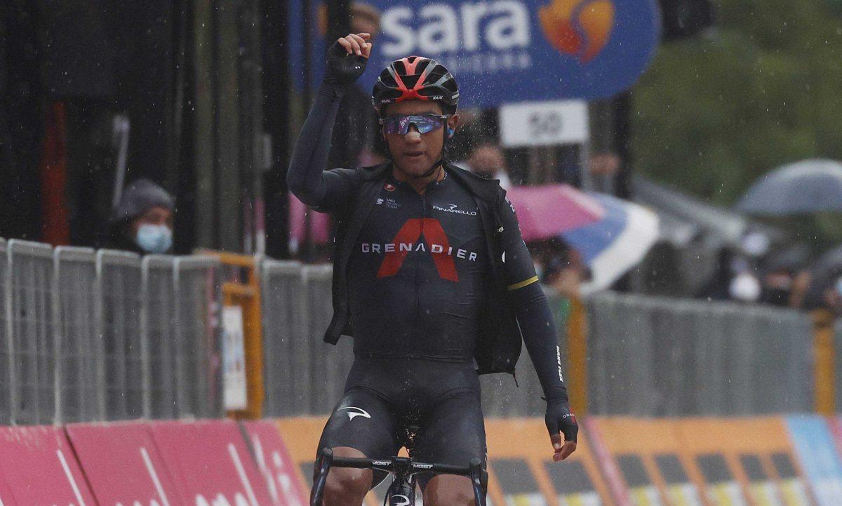 ¡ÚLTIMA HORA! El ciclista ecuatoriano Jonathan Narváez ganó la etapa 12 del Giro D' Italia