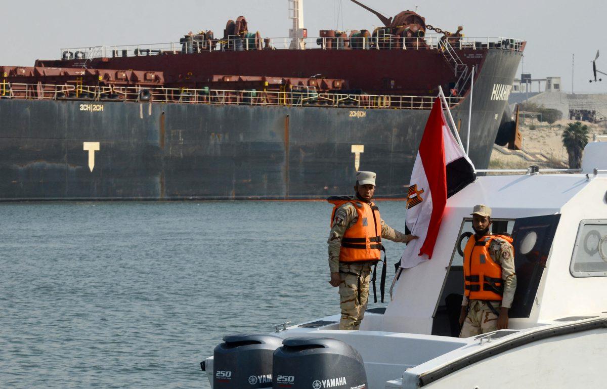 Fin de los enormes embotellamientos marítimos en el canal de Suez