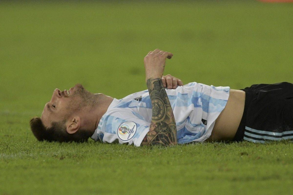 Argentina y Chile empataron a 1 en primer partido de la Copa América