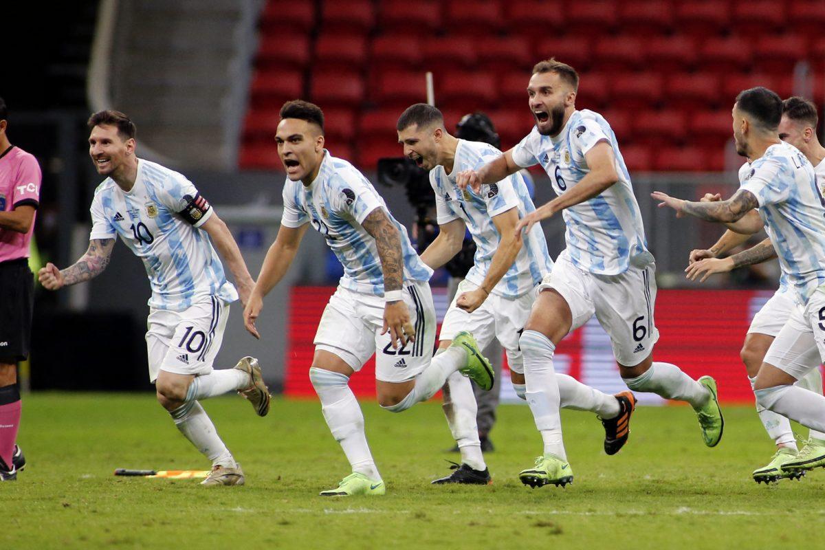 Argentina clasificó a la final de la Conmebol Copa América