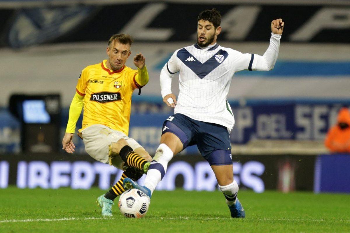 Barcelona cayó en su visita ante Vélez en Argentina