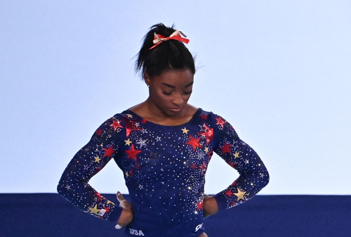 ¿Qué pasó con la atleta Simone Biles?
