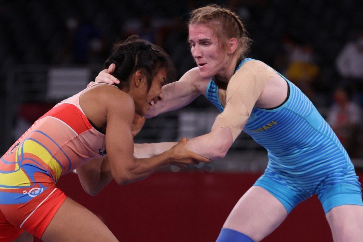Lucía Yépez clasificó a cuartos de final de lucha libre en Tokio 2020