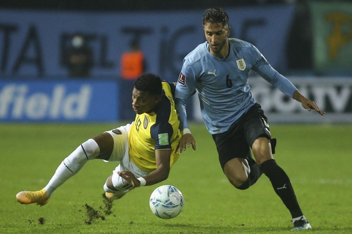 Ecuador cayó ante Uruguay y se ubica en el cuarto puesto de la clasificación
