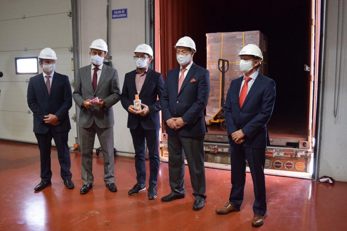 Empresas del Grupo Corporativo Cid rebasan fronteras con su primera exportación a Chile