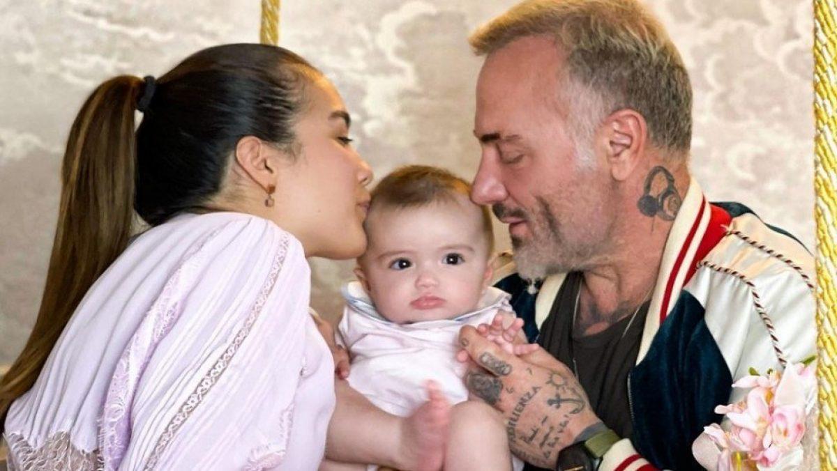 Hija de Gianluca Vacchi y Sharon Fonseca fue operada de emergencia