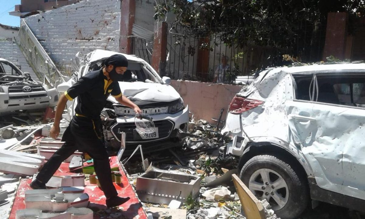 ¡URGENTE! Explosión en Quito deja heridos y bienes destrozados (FOTOS)