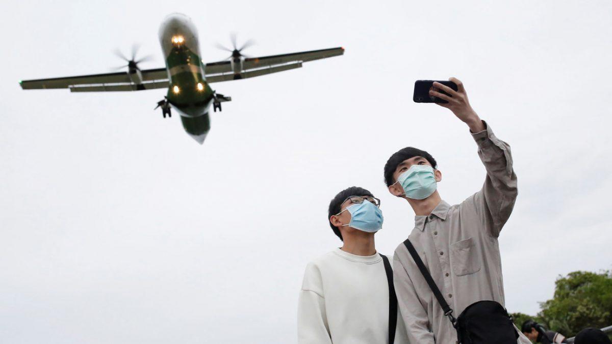 Un aeropuerto de Taiwán ofrece un 'falso viaje al extranjero'