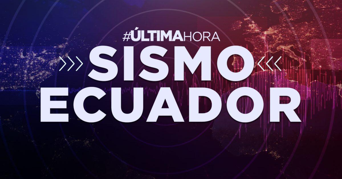 ¡ÚLTIMA HORA! | Sismo de 3.52 sacudió Ecuador hace pocos minutos