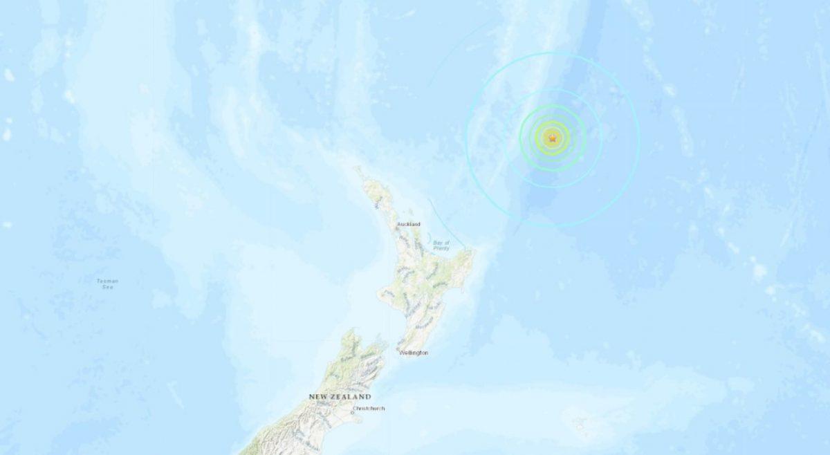 Se registra un fuerte sismo de 7,4 frente a la costa de Nueva Zelanda