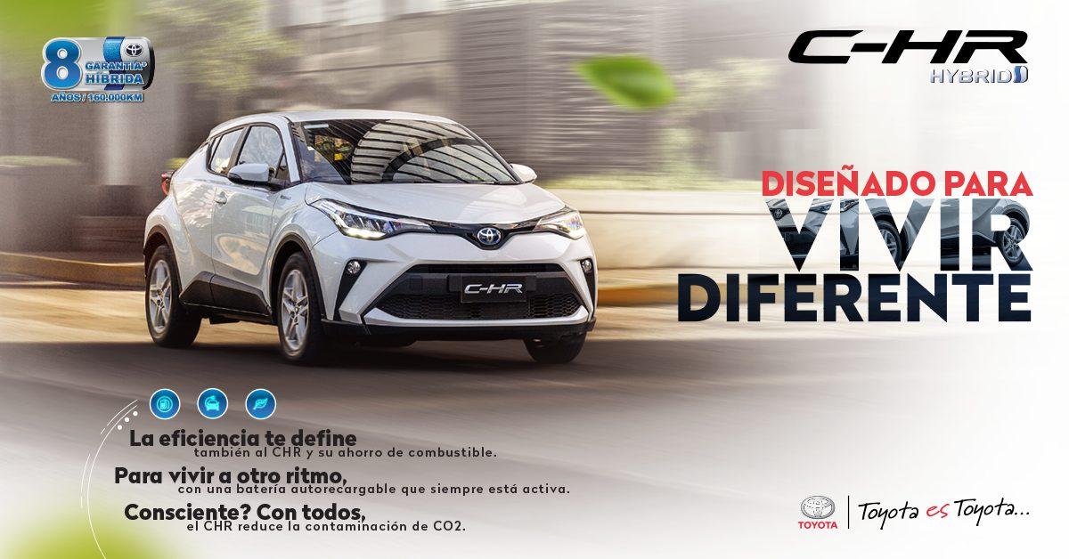 Toyota presenta el nuevo C-HR Híbrido en el primer lanzamiento digital automotriz en Ecuador