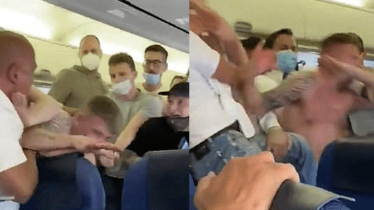 Reportan una pelea por dos pasajeros que se negaron a usar mascarillas a bordo de un avión