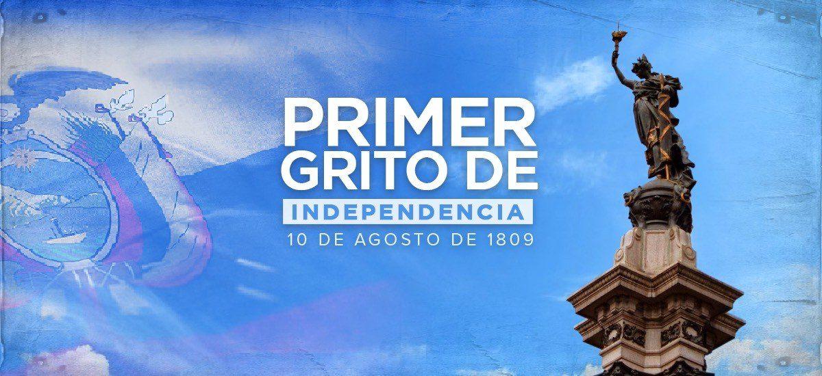 Ecuador conmemora 211 años del Primer Grito de Independencia