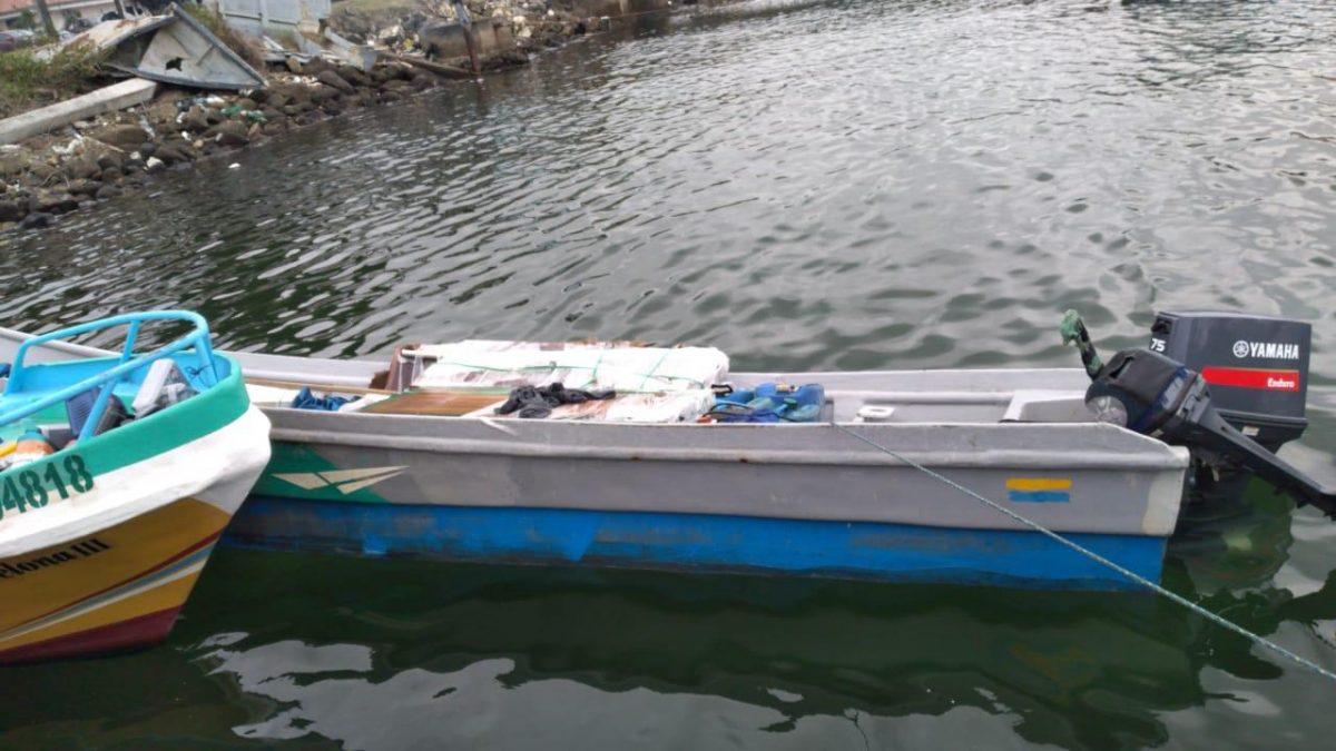 Policía Nacional decomisó 300 kilos de droga en operativo realizado en Esmeraldas