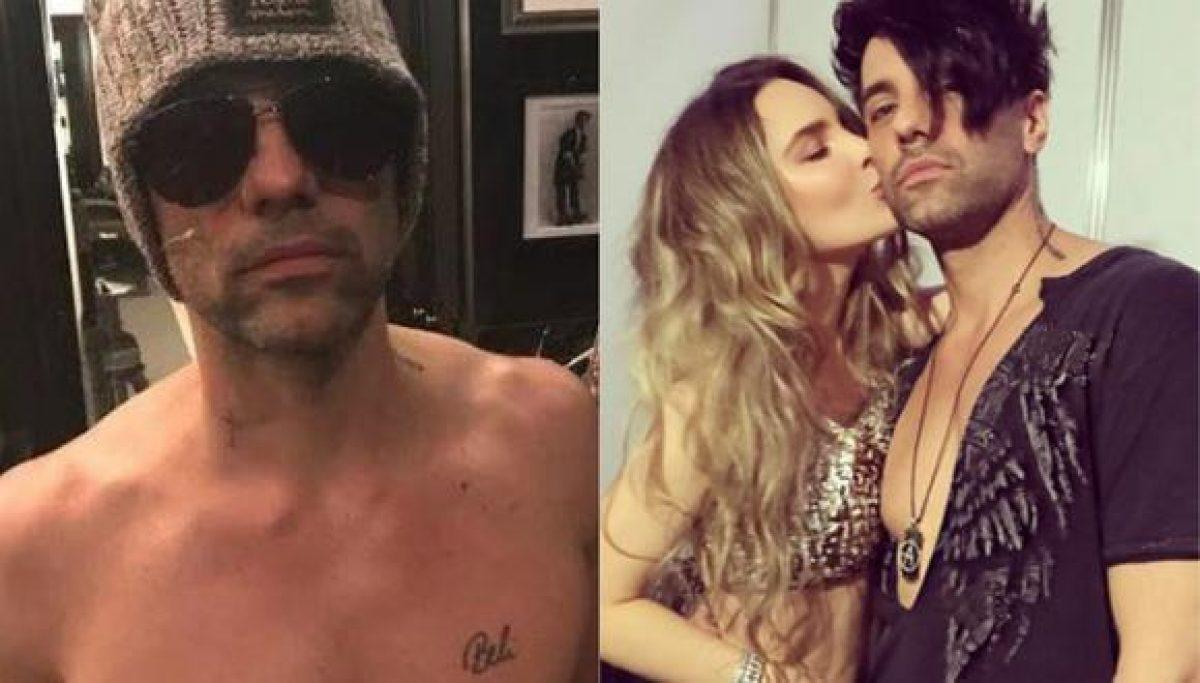 Expareja de Belinda se quitó el tatuaje con su nombre