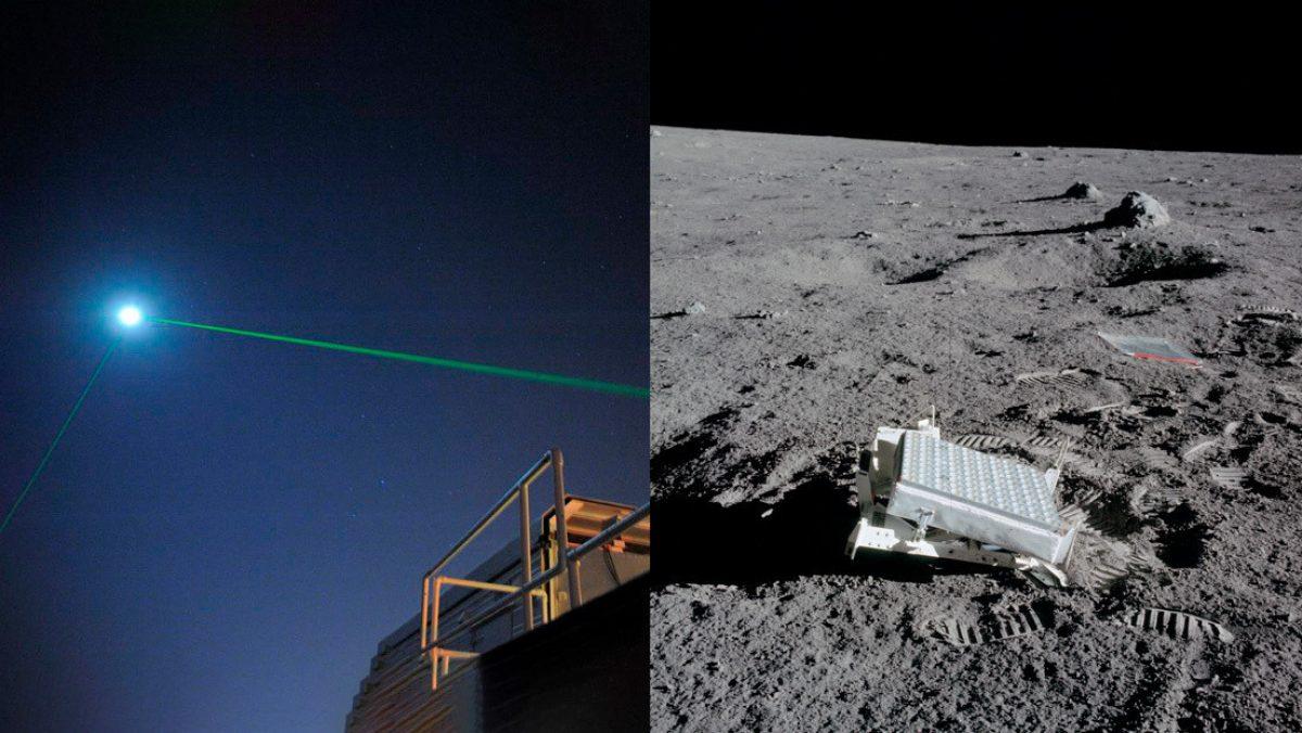La NASA reflejó un láser en la Luna por primera vez tras intentarlo durante más de una década