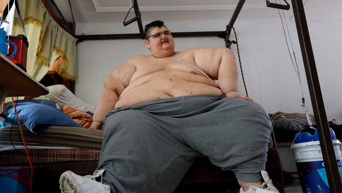 Un hombre que obtuvo el récord Guiness al más obeso del mundo se recuperó del covid-19