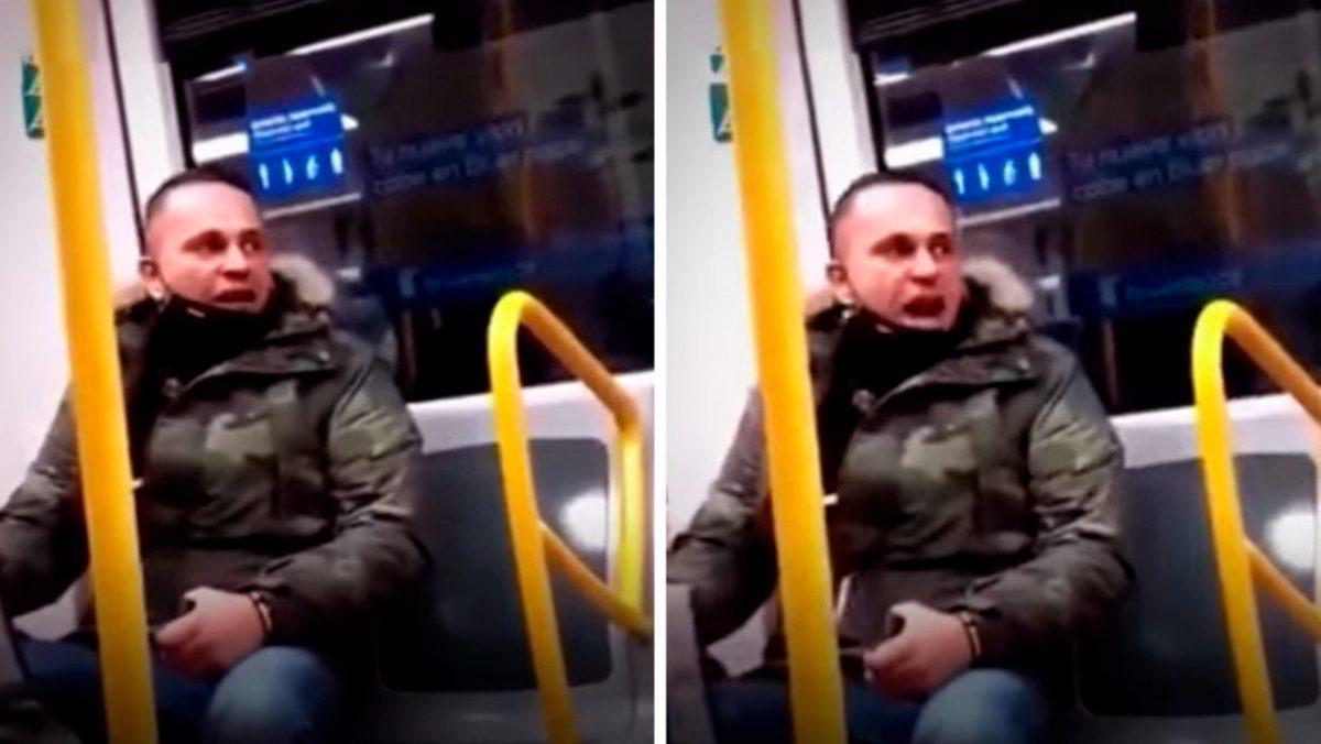 VIDEO | Ecuatoriana de 77 años fue agredida en metro de España