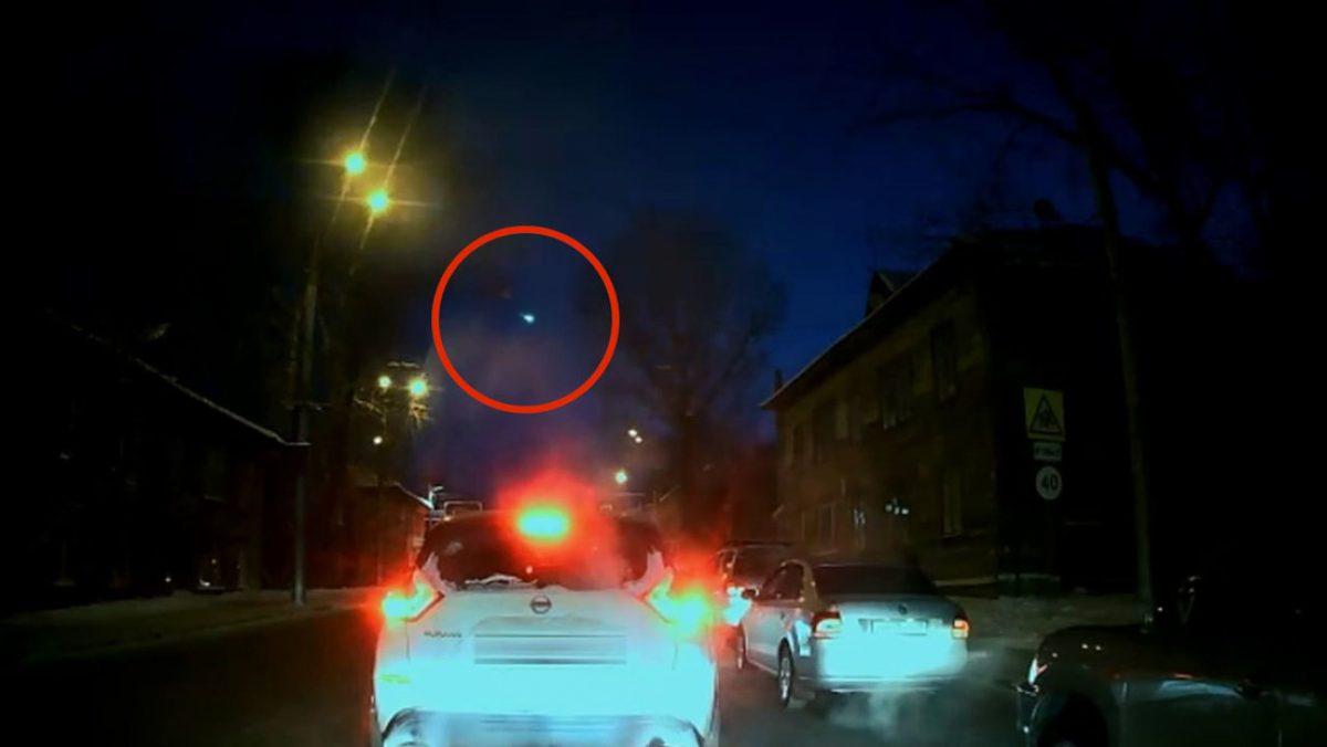 VIDEO | Un meteoro explotó en el cielo de Siberia