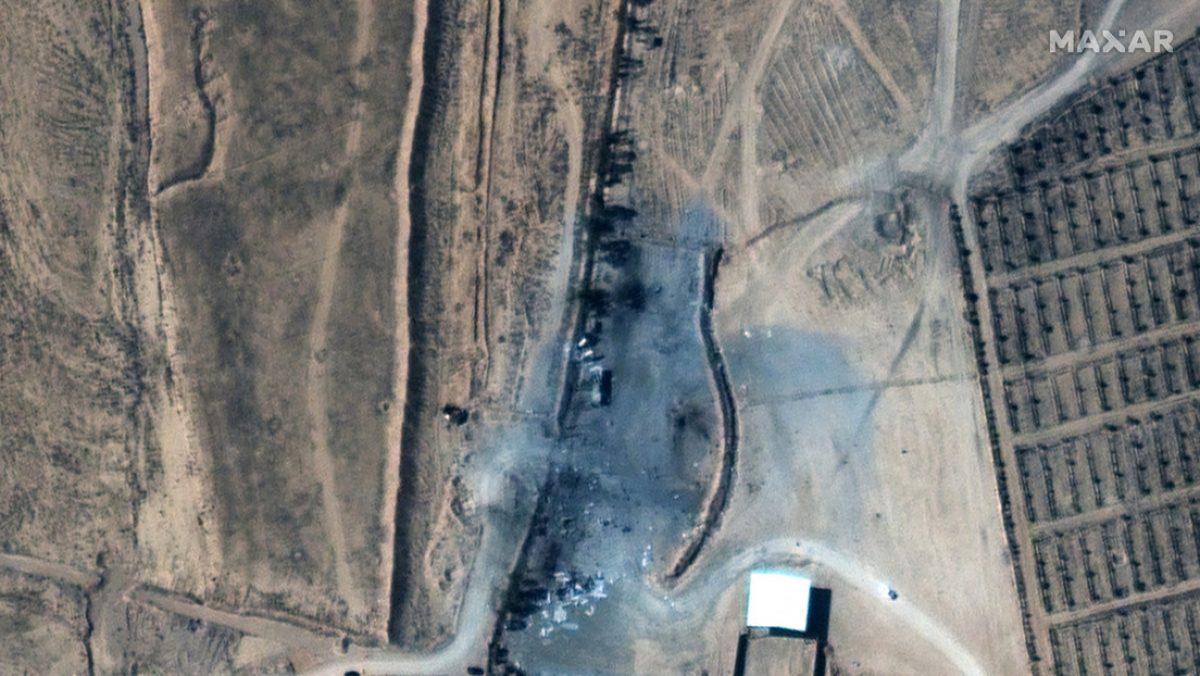 ¿Cómo quedó el lugar atacado por EE.UU. en Siria?