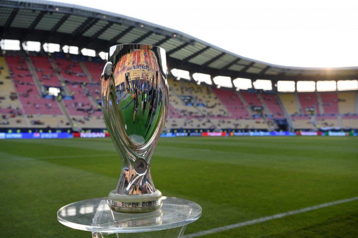 UEFA autoriza regreso de público, limitado, para Supercopa de Europa