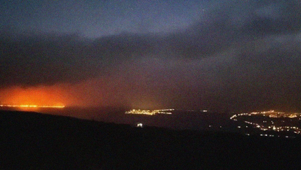 Evacuación en la Isla Grande de Hawái por incendios forestales