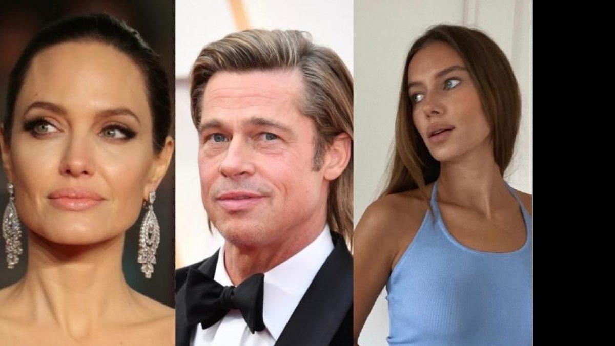 ¿Novia de Brad Pitt dedica mensaje a Angelina Jolie?