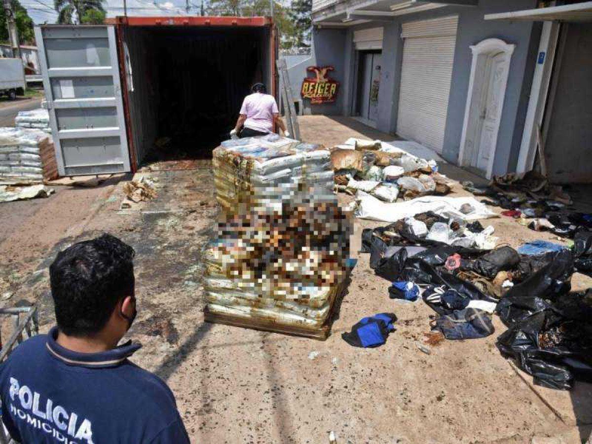 Hallan siete cadáveres en un contenedor de fertilizantes en Paraguay