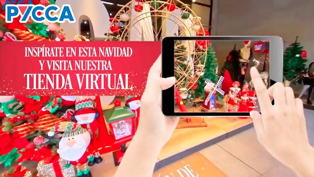 VIDEO |Tienda virtual Pycca: una  forma distinta para decorar tu casa en Navidad