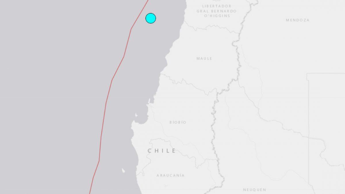 Chile tiembla nuevamente en menos de 24 horas: fuerte sismo se registra en sus costas
