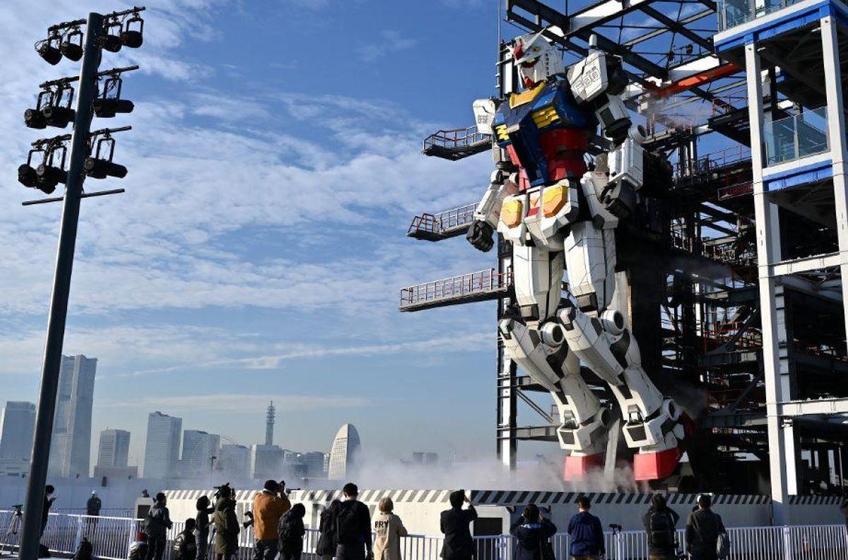 VIDEO | Así se mueve el 'robot de combate' inspirado en la serie animada Gundam