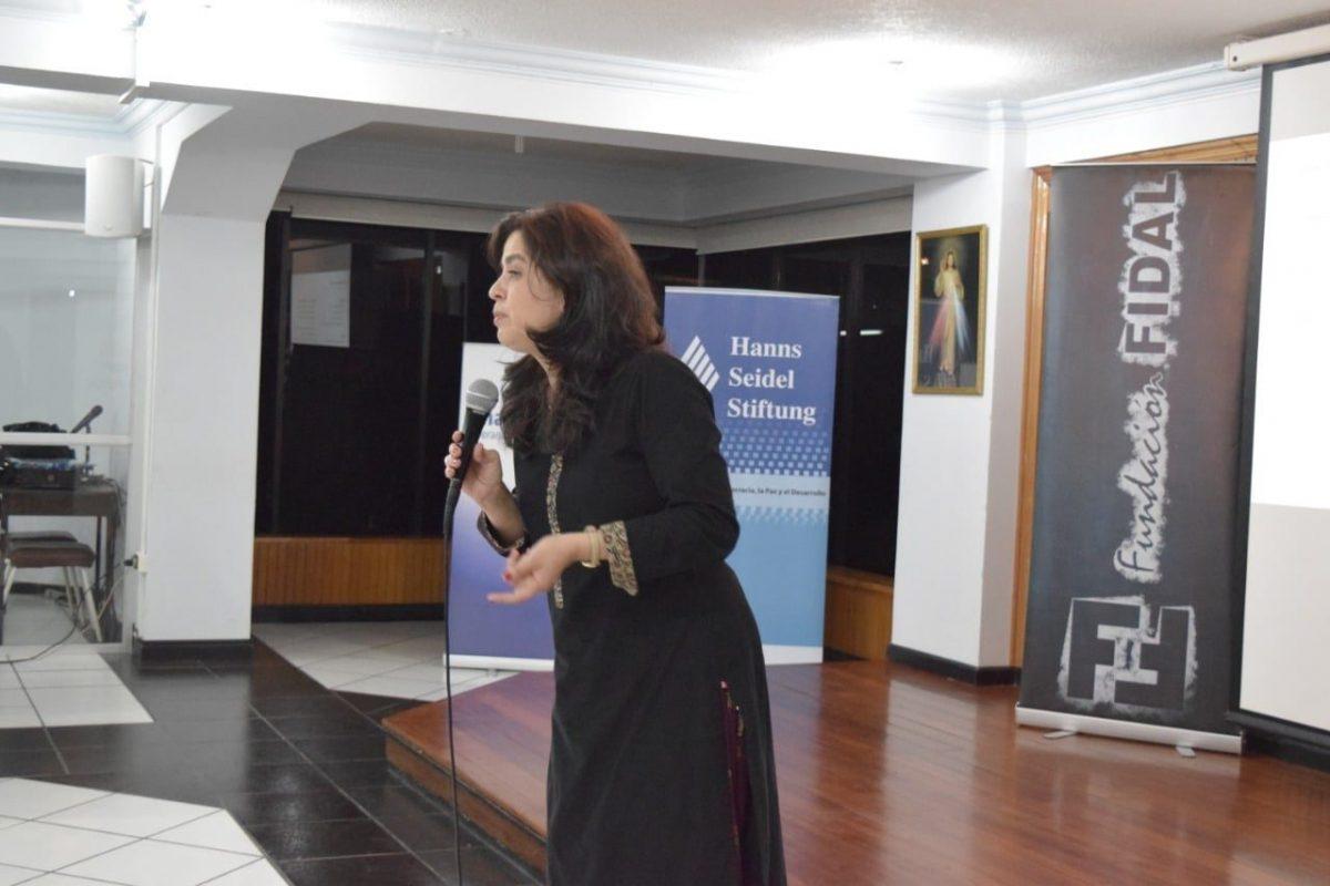 CNE anunció a Claudia Serrano Arteaga como moderadora del Ecuador Debate 2021