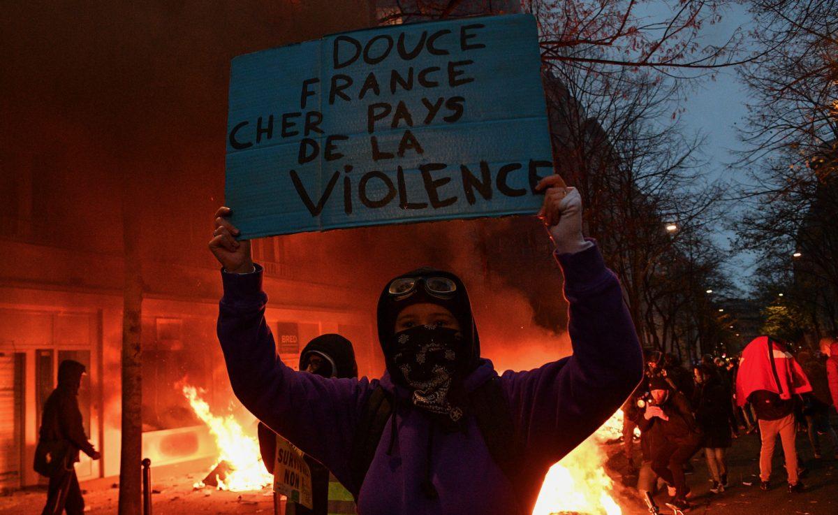 Casi un centenar de detenidos y 67 policías heridos en manifestaciones en Francia
