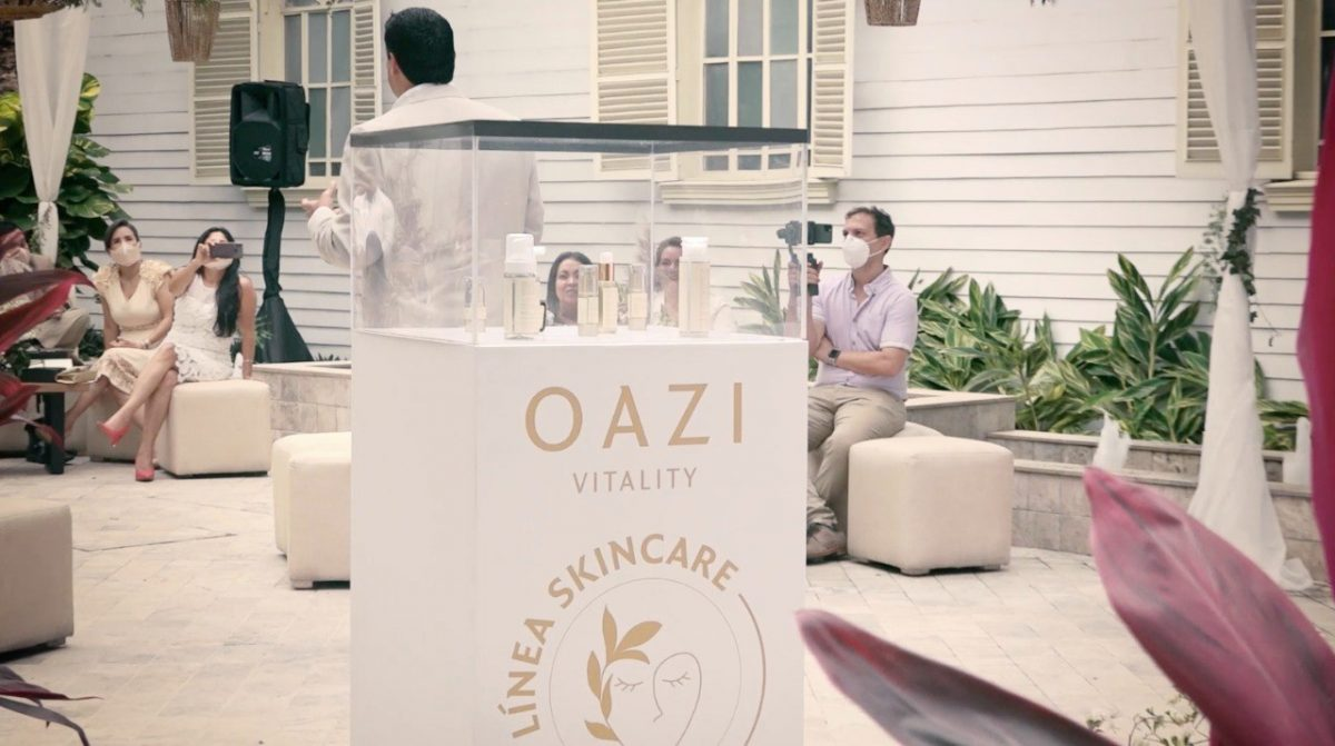 VIDEO | Oazi Vitality presenta su nueva línea para el cuidado facial