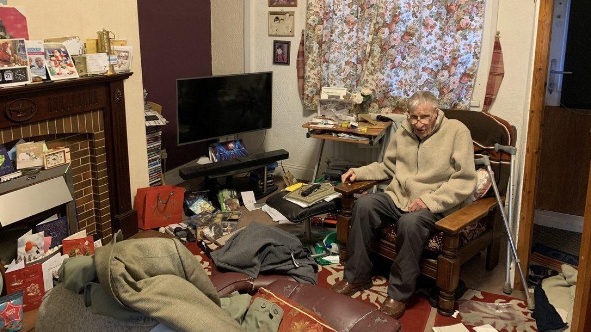 Asaltan vivienda de anciano de 94 años justo antes de navidad