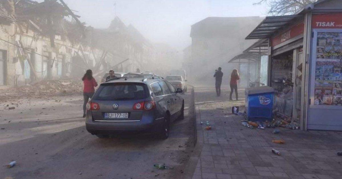 VIDEOS | Imágenes tras el sismo de magnitud 6,4 registrado en Croacia