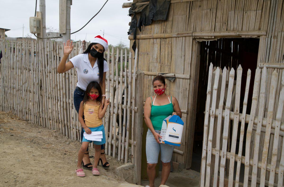 Santa y La Fabril S.A. llevaron felicidad a los más necesitados