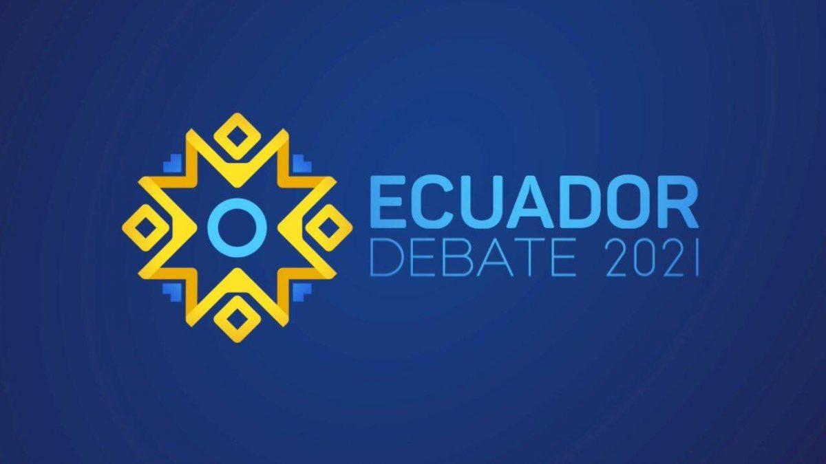 Conoce todos los detalles del Ecuador Debate 2021