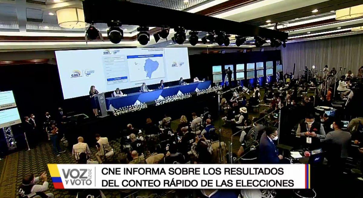 VIDEO |CNE confirma segunda vuelta en elecciones presidenciales