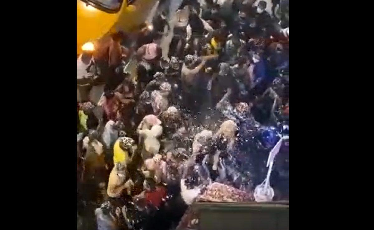 VIDEO | Fiesta y baile en Salinas en medio de la pandemia