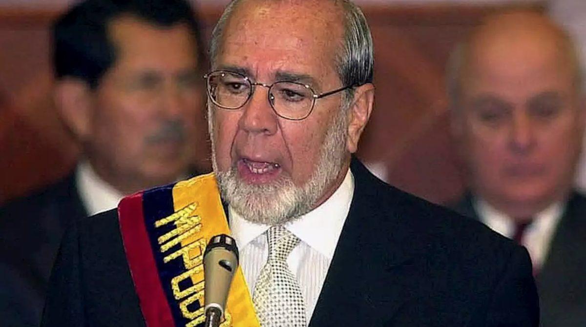 Falleció el expresidente Gustavo Noboa Bejarano