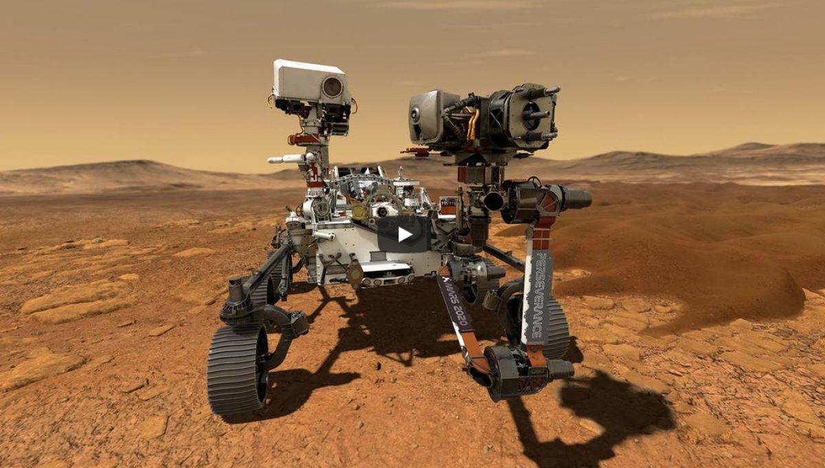 VIDEO   El róver Perseverance de la NASA aterriza en Marte en busca de vida