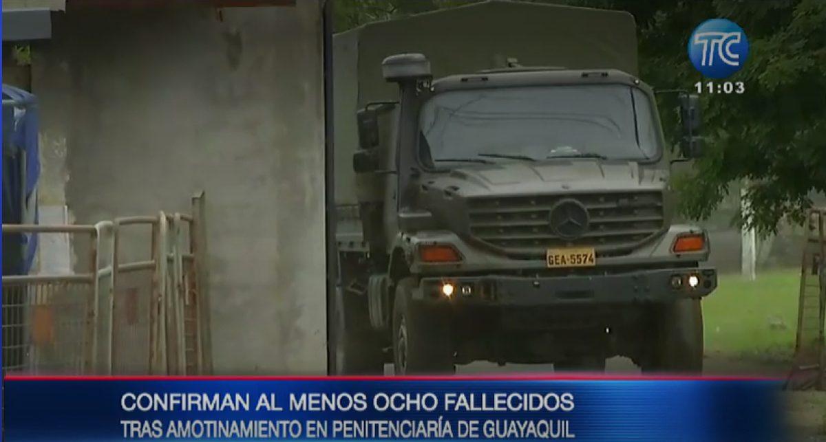 EN VIVO | Actualización sobre lo que ocurre en cárceles del Ecuador