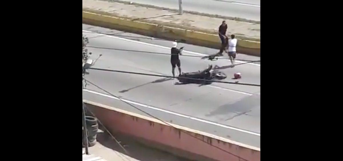 Ladrones devuelven a médico la motocicleta que le robaron en un violento asalto