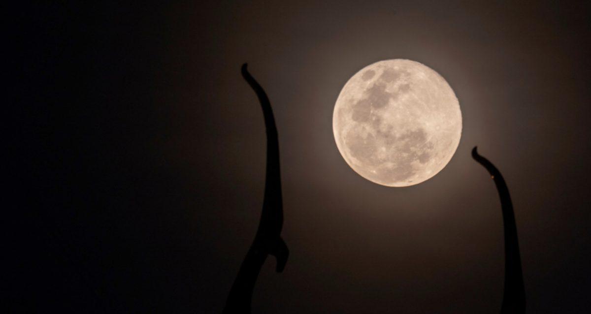 Una superluna aparecerá en el cielo este domingo