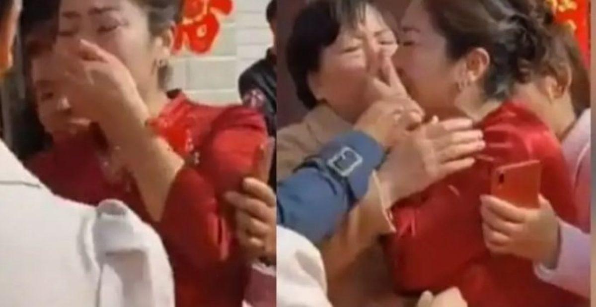 Una madre descubre en la boda de su hijo que su futura nuera es su hija perdida