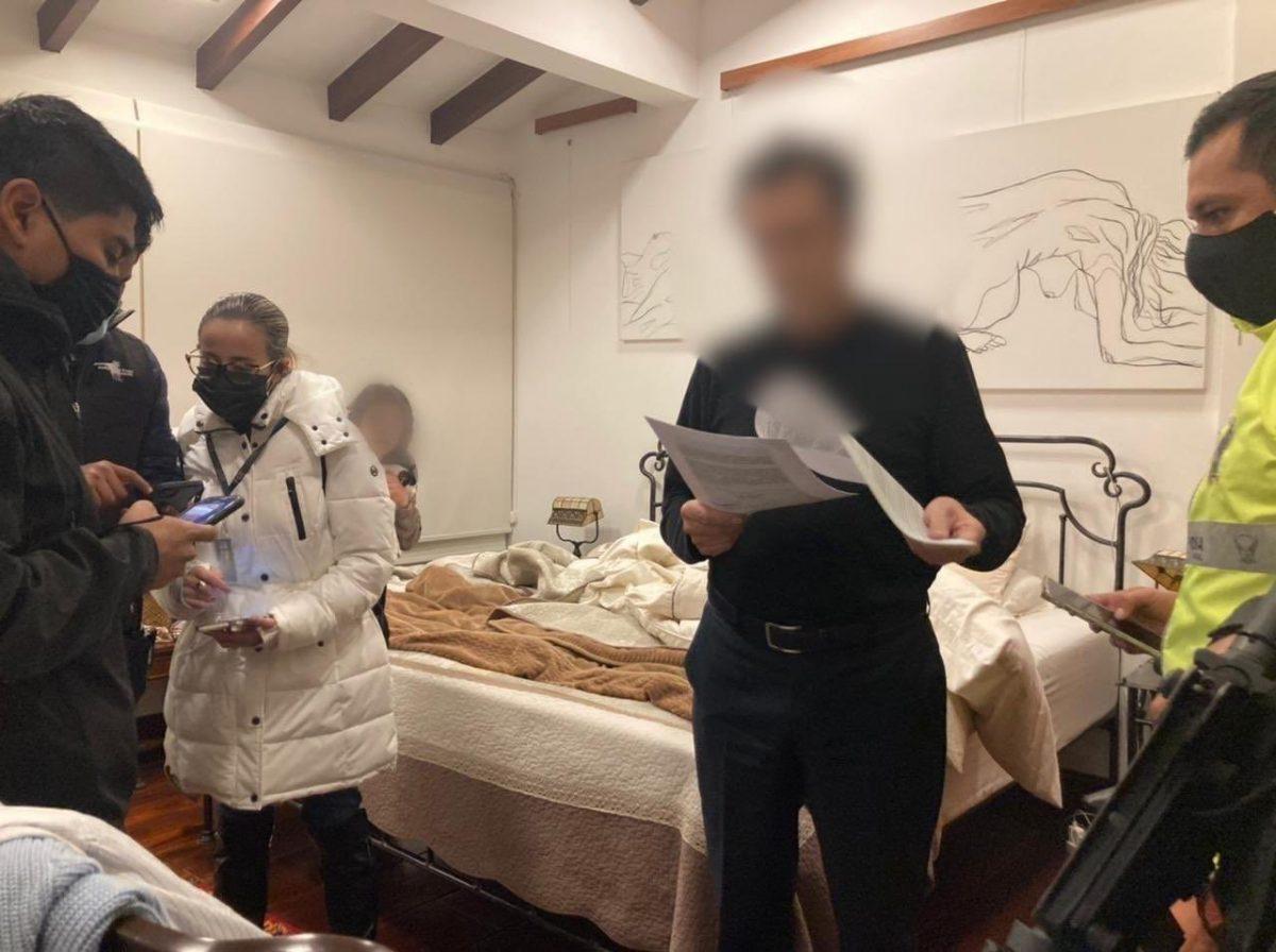 Detienen al Contralor Pablo Celi por presunta delincuencia organizada
