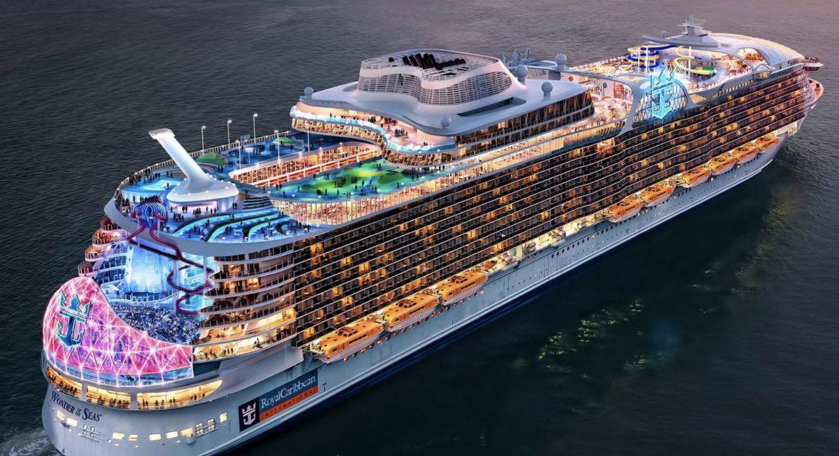 ¿Cómo luce el crucero más grande del mundo?