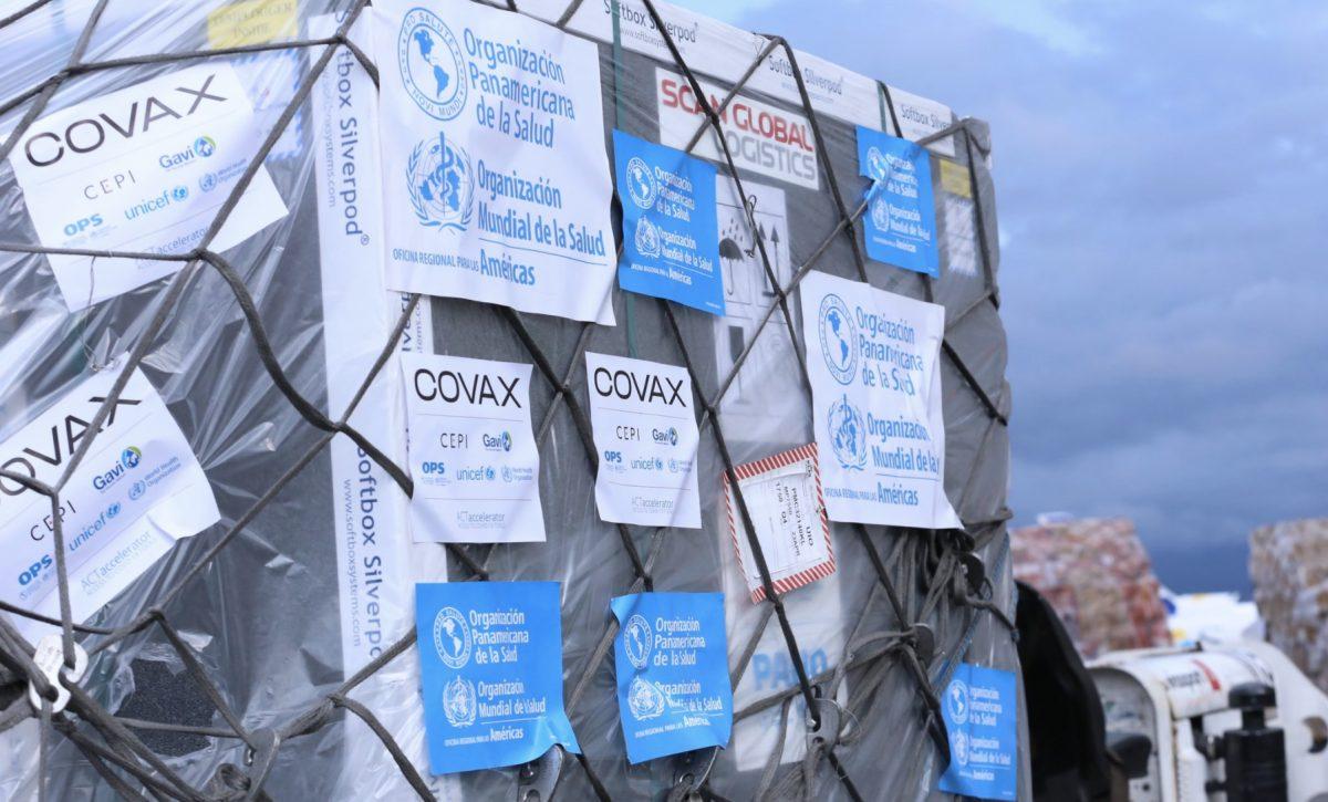 Arriban a Ecuador nuevo lote de 336 mil vacunas contra el COVID-19