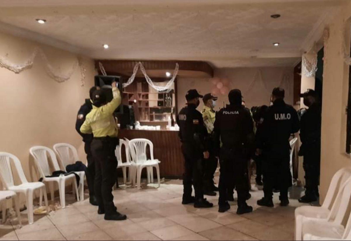 Policia Nacional presenta resultados de las primeras 24 horas de toque de queda
